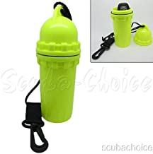 Scuba Diving Snorkeling Waterproof Cylindrical Dry Box with Clip
