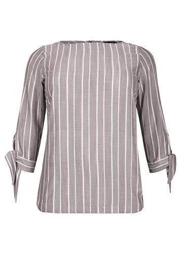 Via Appia Due Damen Modische Bluse mit Streifen