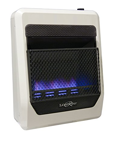 Lost River PCIT20BF Space Heater, 20,000 BTU, White