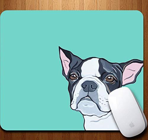 professionnel comparateur Tapis de souris gaming, chien abîmé noir et blanc, résistant à l'abrasion, caoutchouc durable, pad… choix