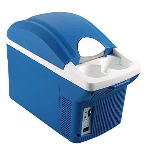 DKEE Mini Nevera Refrigerador for Auto 8L Mini Refrigerador Pequeño Refrigerador Pequeño Refrigerador for Automóvil 12V Portátil Horizontal