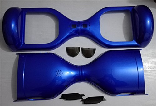 Blue Outer Plastic Cover Case Shell Replacement for 6.5 inch Hover Board and Smart Self Balance Wheel Balancing Electric Scooter