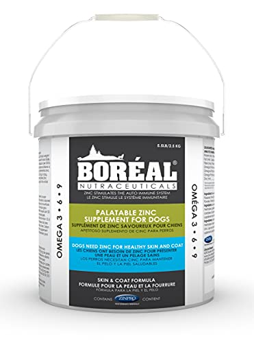Top 10 best selling list for boreal palatable zinc supplement for dogs 5.5 lb tub
