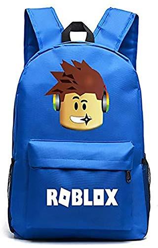 Lelestar Kids Backpack Luminous Daypack-Roblox School Bookbag Laptop Backpacks for Boys Girls Kids Teenagers Game Fans Gift (Colour 4)