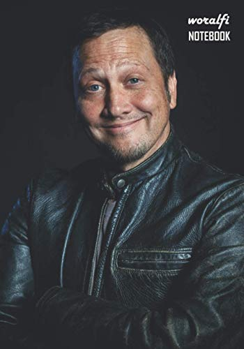 Notebook: Rob Schneider Notebook 129 Pages, Lined Diary, Medium Ruled Notebook and Writing Journal Notepad Gift 7 X 10 in (17. 78 X 25. 4cm)