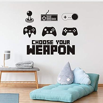 Niños Dormitorio Chicas Xbox One Gamer Pegatinas De Pared Calcomanía