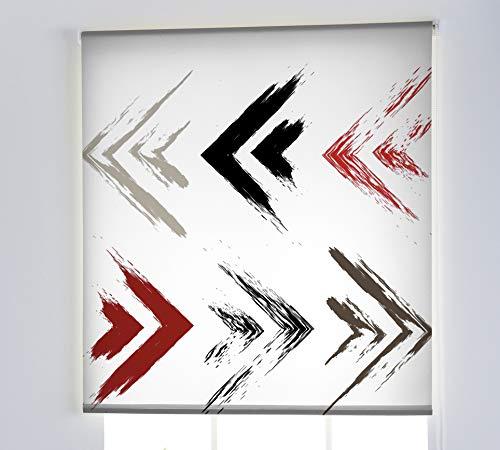 Estoralis T-4039 Basic Estor Enrollable Digital, Multicolor, 130 x 175 cm