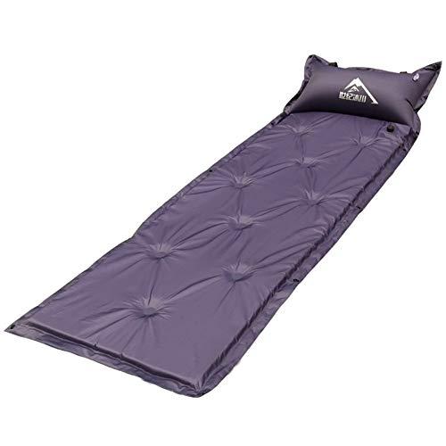 HOUMEL Draagbare Outdoor Air Bed Vochtdicht Automatisch Opblaasbaar Kussen Camping Reizen Camping Tent Slaapkussen Pak Voor Outdoor Tent Slaapzak Rugzak Wandelen