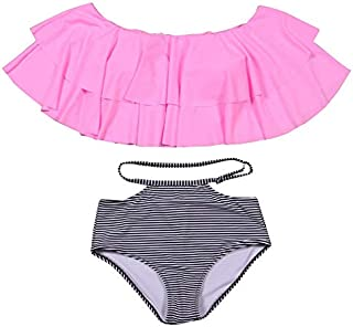 NAKIAEOI Bikini High Waist Swimsuit For Women