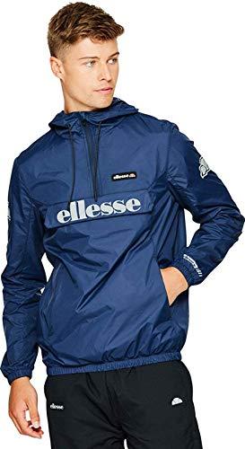 Ellesse Berto 2 Jacket Homme, Bleu Marine, s