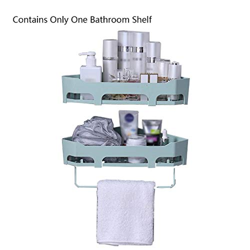 Liutao Badkamerrek, badkamerkast, vrij, punching, badkamerkast, wandbehang, handwas, toilet, wastafel, handdoekhouder, cosmetische opslag, duurzaam badkamerrek