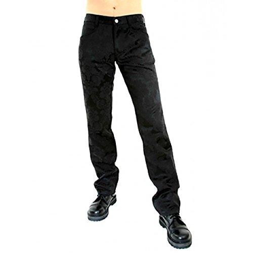 Aderlass Jeans Brocade Black, Black, 36