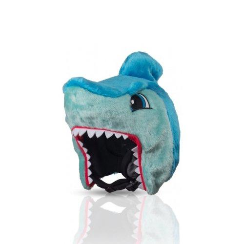 Hoxyheads Herren Shark Skihelm-Überzug, Blau
