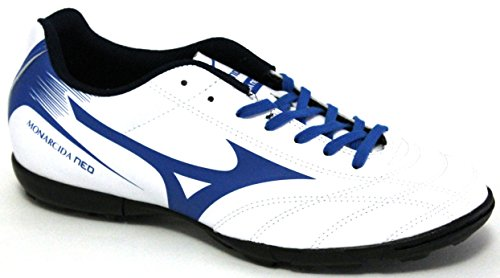 Mizuno Scarpe Calcetto Uomo - Monarcida Neo AS - P1GD1724-27 - White/DirectoireBlue-40