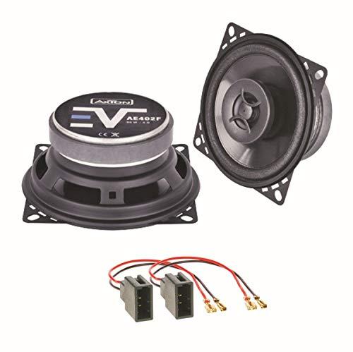 Axton AE402F Lautsprecher Boxen Einbauset für Citroen C1 Toyota Aygo Peugeot 107 Armaturenbrett