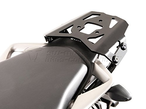 SW-Motech - Support top case SW-Motech RACK ALU noir Honda CROSSRUNNER 800