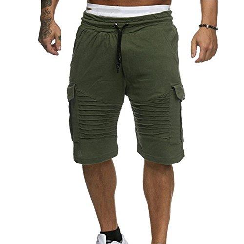 Beonzale Pants Mode Herren Shorts Badehose Atmungsaktiv Joggen und Training Outdoor Shorts Strand Surfen Laufen Sporthosen