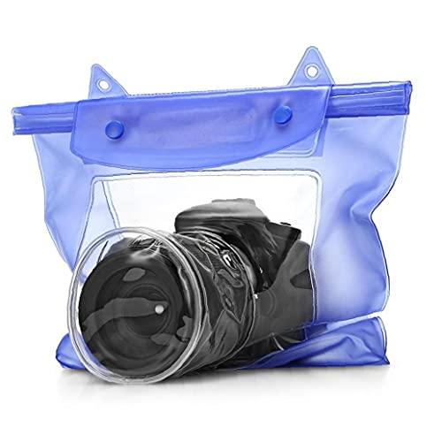 TOSSPER wasserdichte Transparent-Kamera-Kasten-unterwasserkamera-Beutel-Kasten Digitalkamera-objektiv Wasserschutz PVC-Beutel
