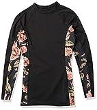 O'Neill Wetsuits Damen Always Summer Collection Rashguard, BLK/FLO, Medium