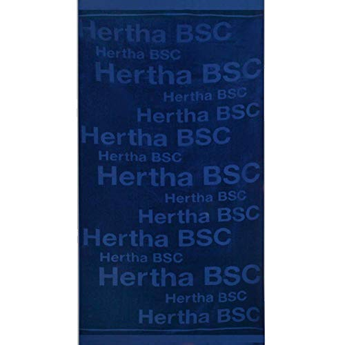 Hertha BSC Berlin Strandtuch (one s, navy)