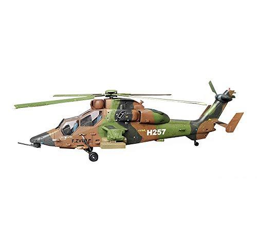 JHSHENGSHI Helikopter-Puzzle-Plastik-Modellbausätze, Eurocopter EC-665 Tiger HAP-Modell der französischen Armee im Maßstab 1:72, Spielzeug und Geschenk, 8,7 x 7 Zoll