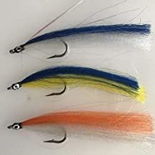 BestCity Fly Fishing Saltwater Deceiver 8 Pack Size 2/0-3/0 Lures #DEC1