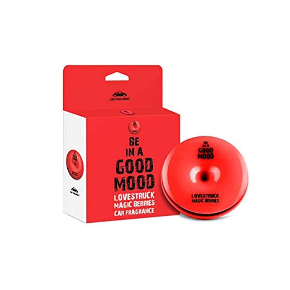 Be in a Good Mood Car Fragrances | Essential Oils | Car Air Freshener with Easy-to-Use Air Vent Diffuser | Boost Your Mood & Eliminate Unpleasant Odors (Magic Berries)