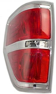 OE Replacement Ford F-150 Driver Side Taillight Lens/Housing (Partslink Number FO2818143)