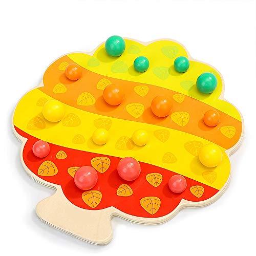 Yifuty Kleiner Vogel isst Obst Clip-Ordner Musik Kinderbrett Spiel Pädagogisches Spiel Kleines Spielzeug Elternkind Interaktives Spiel Spielzeug 220 * 200mm