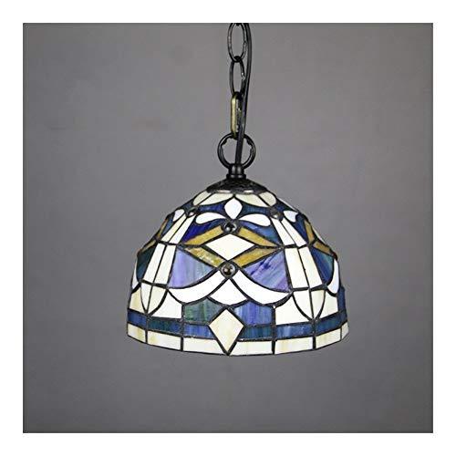 BDDLI Lámpara de Mesa Lámpara de Porche de tifón de la luz de la luz del Colgante de la luz de Tiffany Tiffany Tiffany de 8 Pulgadas Adecuado para Regalos de decoración del hogar