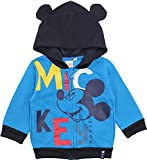 Disney Mickey Mouse Baby Jungen Happy Face Hoodie Pullover Gr. 24 Monate, blau