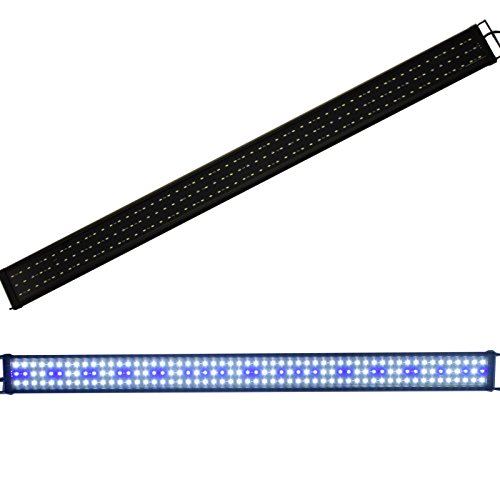 Aquaria Eco Aquarium verlichting LED-verlichting vistank lamp aquarium LED Wit Blauw 28cm-180cm, 150cm