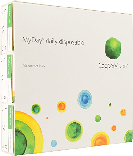 MyDay daily disposable (90 Stk.) (Dioptrien: -05.00 / Radius: 8.4 / Durchmesser: 14.2)