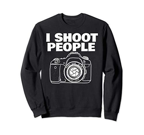 I shoot people funny photographer I shoot people Sudadera