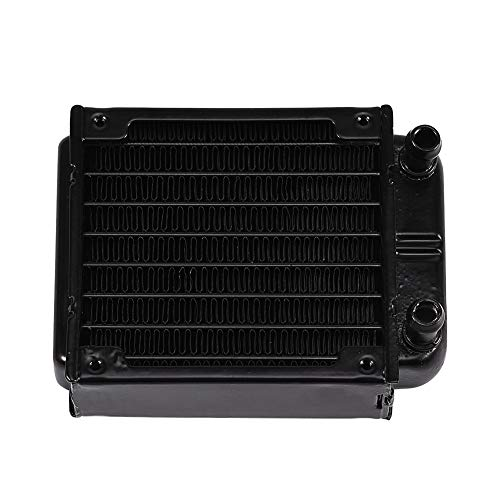 Computer Cooling - Aluminum Ra/diator Water Cooling Cooler Row 80MM for PC Computer CPU Heat Sink