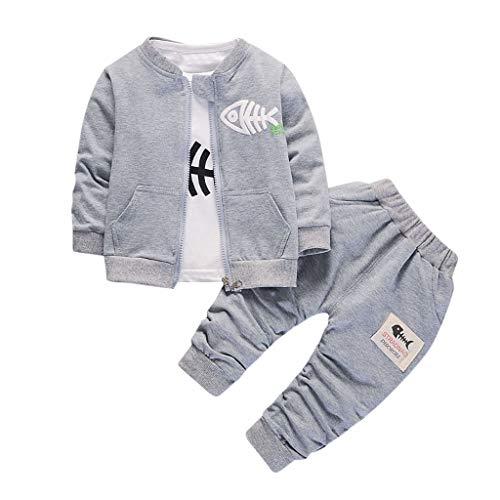 Pas Cher Vêtements Enfants Été, 3-4 Ans Toddler Enfants bébés garçons Girl Cartoon Fish Sport Suit T Shirt Pants Outfits Set Chic Cadeau Saint-Patrick