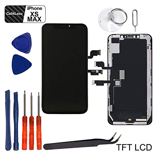 Cell4less LCD Screen Replacement for iPhone Xs MAX TFT Quality LCD Kit