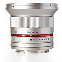 Rokinon RK12M-E-SIL 12mm F2.0 Ultra Wide Angle Fixed Lens
