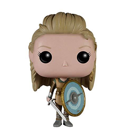 A-Generic Pop! 10 Vikingos Ragnar Lothbrok Pop Figura de Vinilo de Juguete, Modelo de Anime Modelo de Personaje de Anime, coleccionables Decoraciones artesanías Regalos