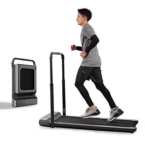 OUXI Cinta de correr Walking R1 Pro, plegable, espacio de almacenamiento vertical, 10 km/h, para correr, caminar, control 2...