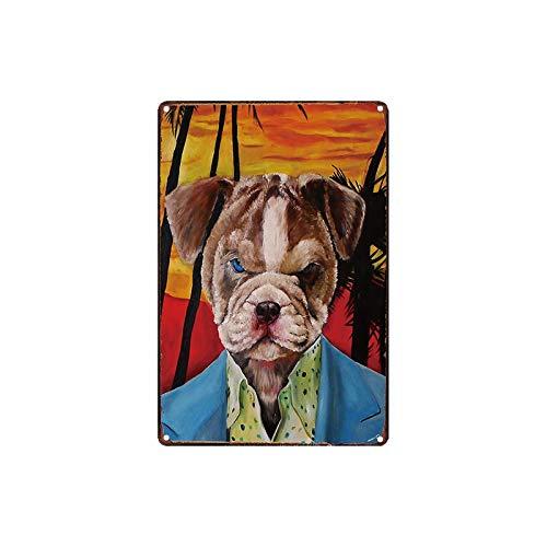 Puzzle 1000 Piezas Placa Pet Dog Shop Animal Nostálgico Retro Art Painting Puzzle 1000 Piezas Adultos Gran Ocio vacacional, Juegos interactivos familiares50x75cm(20x30inch)