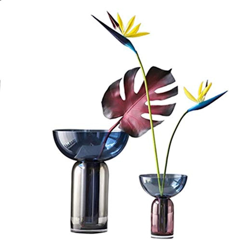 顧問甘い滑る花器 花瓶セラミックフラワーシンプルなリビングルームキッチンテーブル内務省結婚式工場花大規模工場15 * 7 * 12 * 19センチメートルを塗装 花瓶