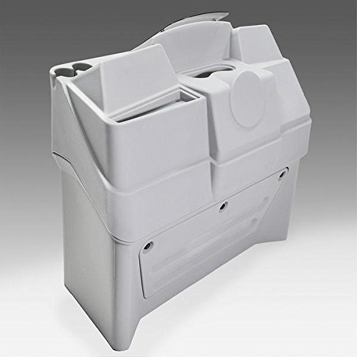 DeckMate Large Pontoon Boat Console (Gray Pontoon Console)