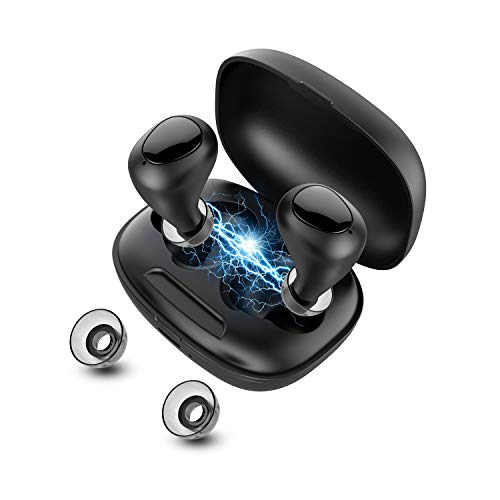 Ehpow Bluetooth Kopfhörer In Ear Kopfhörer Kabellos Bluetooth 5.0 Headset True Wireless Kopfhörer mit Integriertem Mikrofon,Hi-Fi Stereo Sound für Handy/Sport/Laufen/Android/IOS…