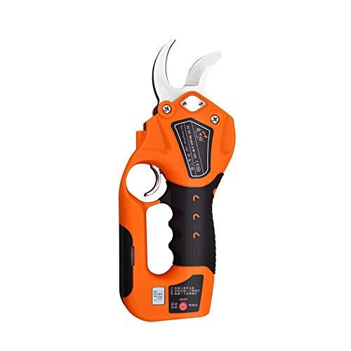 Elektrische Gartenschere Astschere Professional Baumschere Schnurlose Astschere Rebschere 150W 8V Lithium Batterie 30 mm Schnittdurchmesser Akku-Astschere, 6-8 Arbeitsstunden