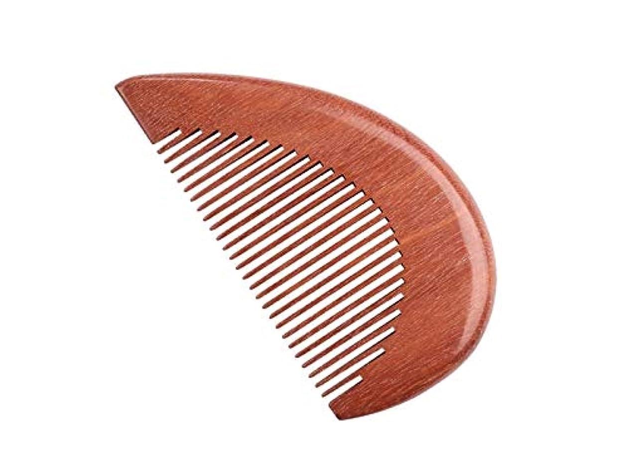 所得ブレス健康的耐久性 ハート型のレッドサンダルウッドの櫛手作りのプレミアム品質ナチュラルウッドの櫛カップルの櫛