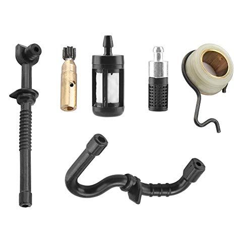 TOPINCN Kit de Filtro de Manguera de Combustible de Tornillo sin Fin de la Bomba de Aceite de la Motosierra para Stihl MS180 MS170 180 018 017 Accesorios de Motosierra asequible