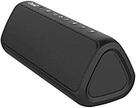OontZ Angle 3 Pro - Waterproof Bluetooth Speaker, 21-Watts Louder Volume, Exceptional Sound & Bass, 100ft Wireless Range, Play Two Together for Dual Stereo, Bluetooth Speakers (Black)