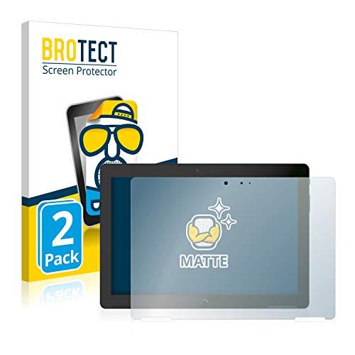 BROTECT 2X Entspiegelungs-Schutzfolie kompatibel mit BQ Aquaris M10 Bildschirmschutz-Folie Matt, Anti-Reflex, Anti-Fingerprint