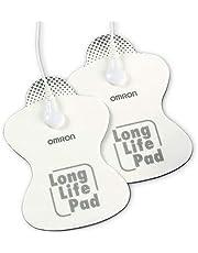 OMRON Long Life HV-LLPAD-E Electrodos de recambio para las máquinas de electroestimulación E3 Intense, PocketTens y E4 de OMRON